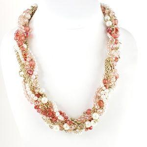 White House Black Market Jewelry - White House Black Market Necklace Twisted Strand
